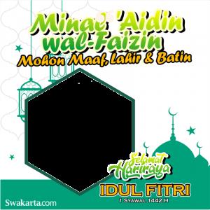 Bingkai Twibbon Hari Raya Idul Fitri 1442 H