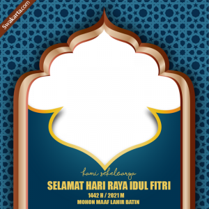 Twibbon Hari Raya Idul Fitri 2021-1442 H