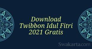 twibbon idul fitri 2021