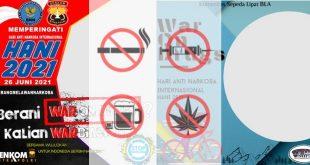 Twibbon hari anti narkoba 2021