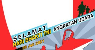Twibbon Memperingati Hari Bhakti TNI AU 2021