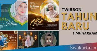 twibbon tahun baru islam 1443 hijriyah
